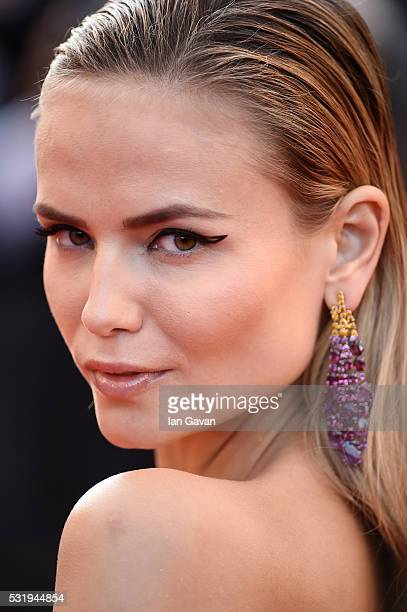 Natasha Poly attends the 'Julieta' premiere during the 69th annual Cannes Film Festival at the Palais des Festivals on May 17 2016 in Cannes France