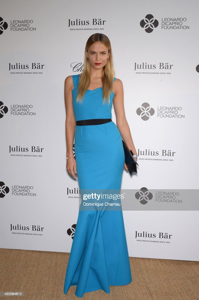 <a gi-track='captionPersonalityLinkClicked' href=/galleries/search?phrase=Natasha+Poly&family=editorial&specificpeople=2163130 ng-click='$event.stopPropagation()'>Natasha Poly</a> attends the Leonardo Dicaprio Gala at Domaine Bertaud Belieu on July 23, 2014 in Saint-Tropez, France.