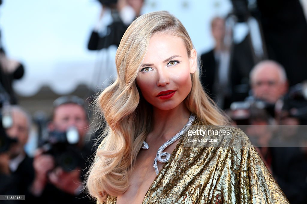 Natasha Poly attends the premiere of 'The Sea Of Trees' during the 68th annual Cannes Film Festival on May 16, 2015 in Cannes, France.