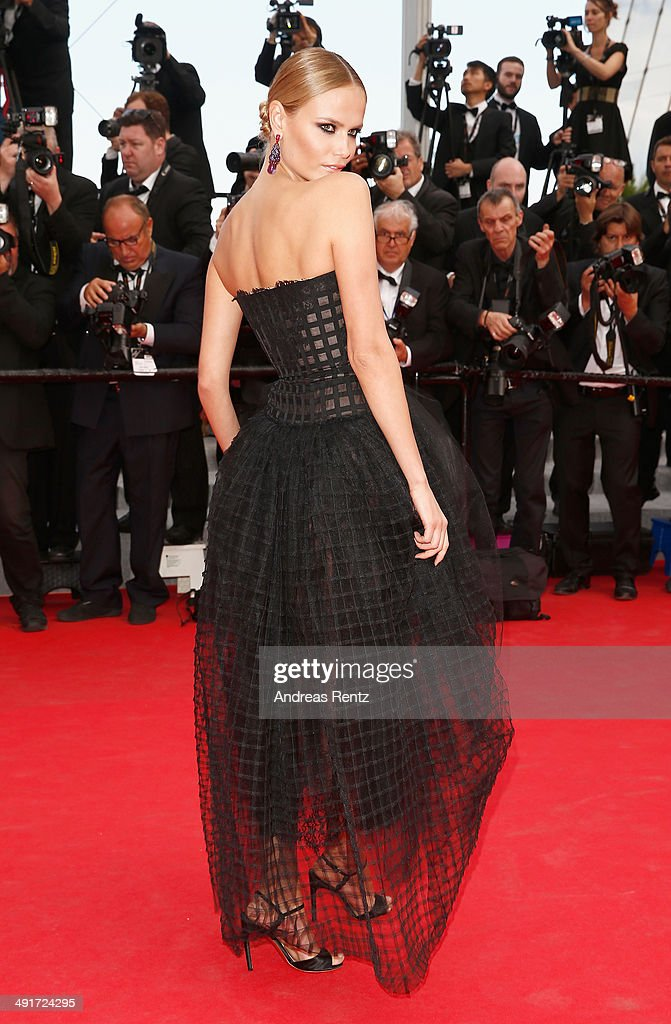 Natasha Poly attends the 'Saint Laurent' premiere during the 67th Annual Cannes Film Festival on May 17, 2014 in Cannes, France.