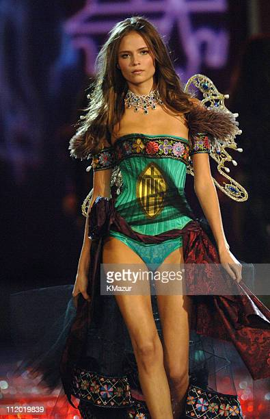 Natasha Poly during 10th Victoria's Secret Fashion Show Runway at The New York State Armory in New York City New York United States
