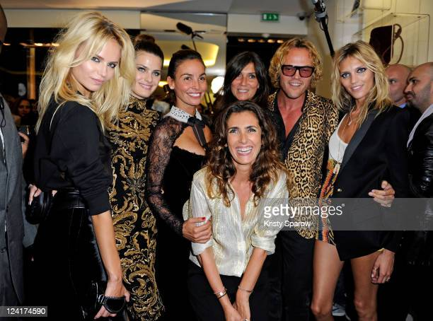 Natasha Poly Isabeli Fontana Ines Sastre Emmanuelle Alt Peter Dundas Anja Rubik and Mademoiselle Agnes attend the Vogue Fashion Celebration Night...