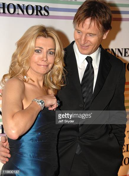 Natasha Richardson and Liam Neeson during 29th Annual Kennedy Center Honors at John F Kennedy Center for the Performing Arts in Washington DC United...