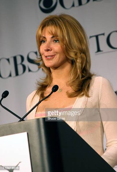 Natasha Richardson during 2006 Tony Awards Nominations Announcement at New York Public Library for the Performing Arts in New York NY United States