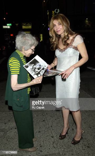 Natasha Richardson during 'Madame Melville' opening night post party at Ernie's Restaurant in New York City New York United States