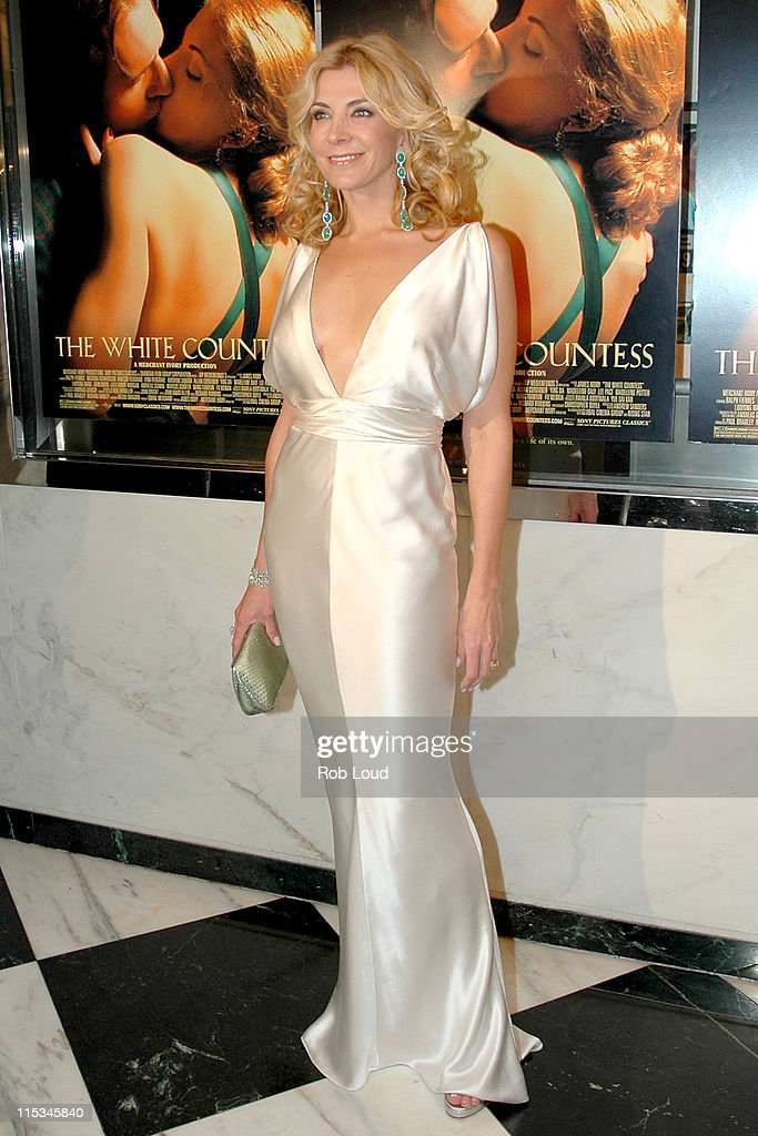 Natasha Richardson during Merchant Ivory's 'The White Countess' New York City Premiere at The Paris Theatre in New York City New York United States
