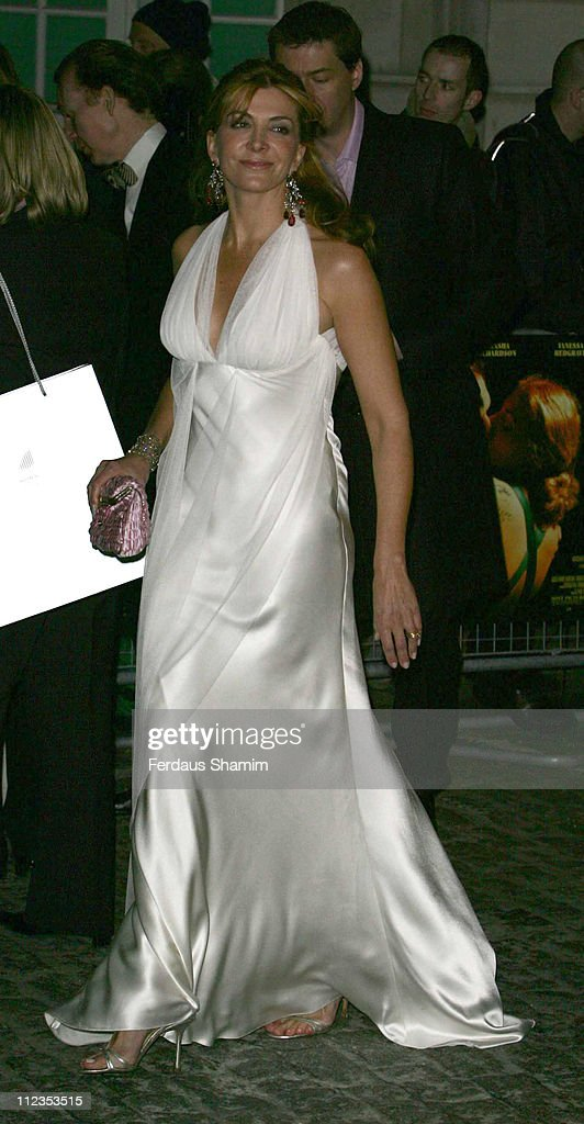 Natasha Richardson during 'The White Countess' London Premiere - Arrivals at Curzon Mayfair in London, Great Britain.