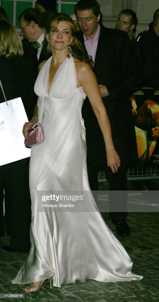Natasha Richardson during 'The White Countess' London Premiere Arrivals at Curzon Mayfair in London Great Britain