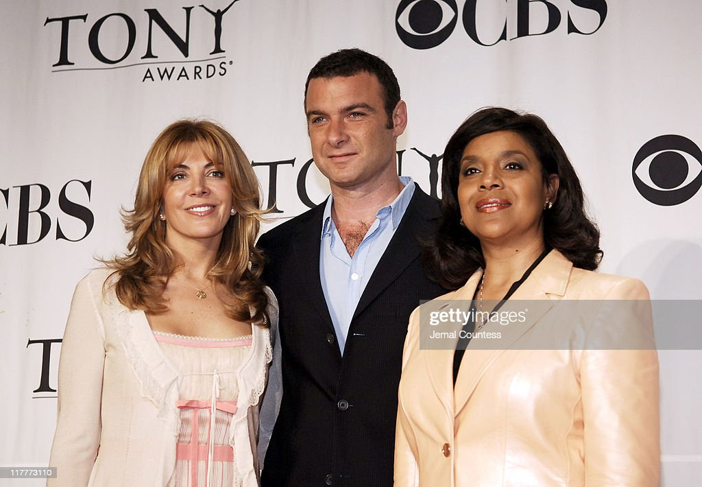 Natasha Richardson Liev Schreiber and Phylicia Rashad join members of the American Theatre Wing to announce the 2006 Tony Award Nominations at the...