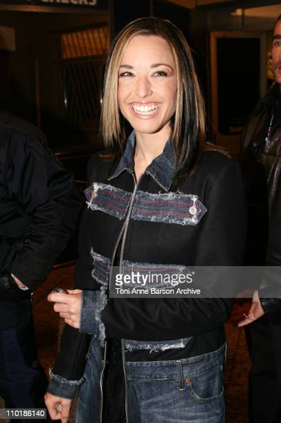 Natasha StPier during 2004 NRJ Music Awards Back Exit / After Show Departure at Palais des Festivals in Cannes France