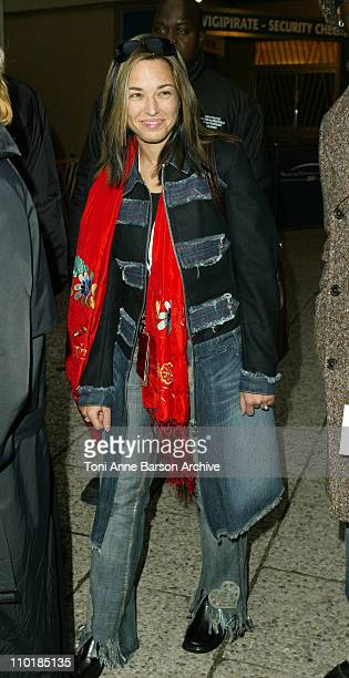 Natasha StPier during 2004 NRJ Music Awards Rehearsal Arrivals at Palais des Festivals in Cannes France