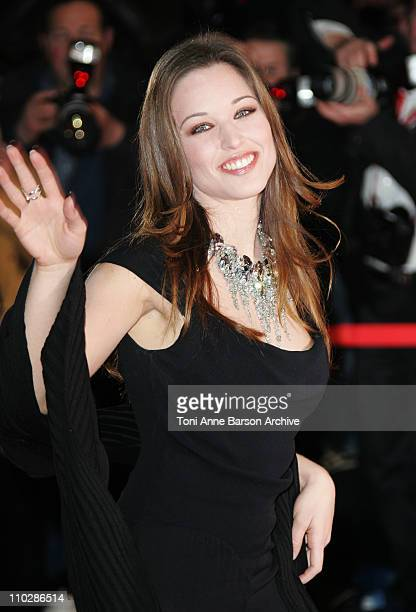 Natasha StPier during 2006 NRJ Music Awards Arrivals at Palais des Festivals in Cannes France