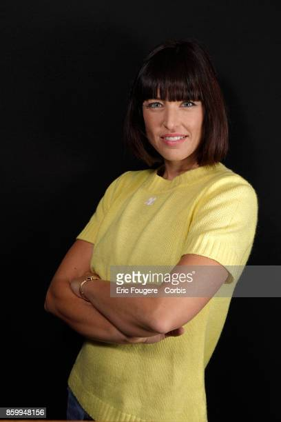 Natasha StPier poses during a portrait session in Paris France on