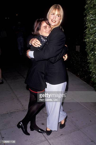 Natasha Wagner and Katie Wagner during Katie Wagner and Natasha Wagner Sighting at Le Dome Restaurant in West Hollywood August 16 1991 at Le Dome...