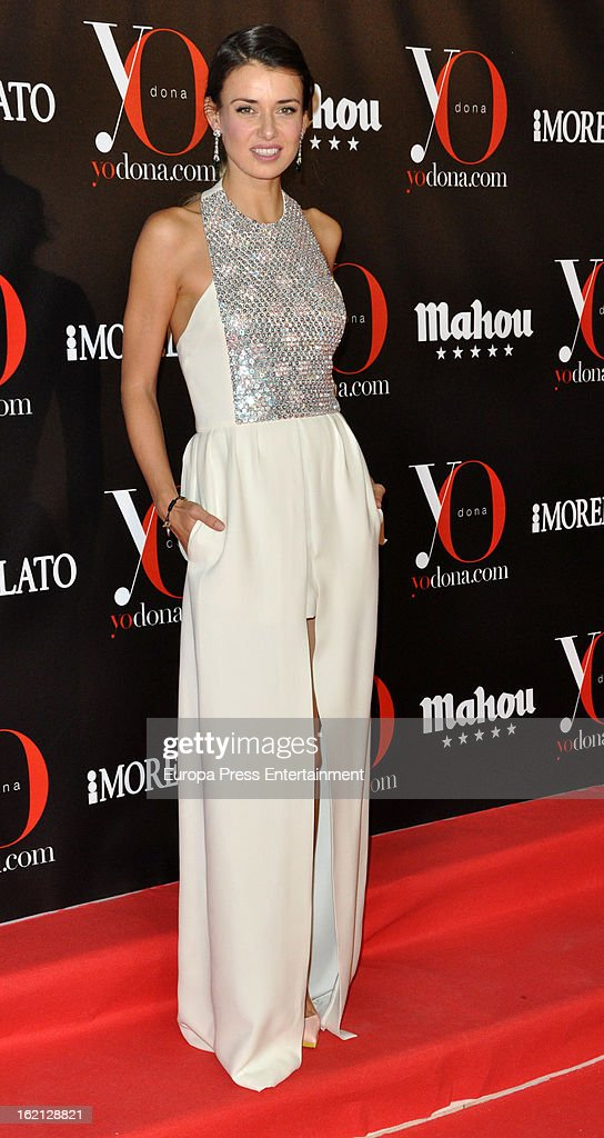 Natasha Yarovenko attends 'Yo Dona' magazine mask party on February 18, 2013 in Madrid, Spain.