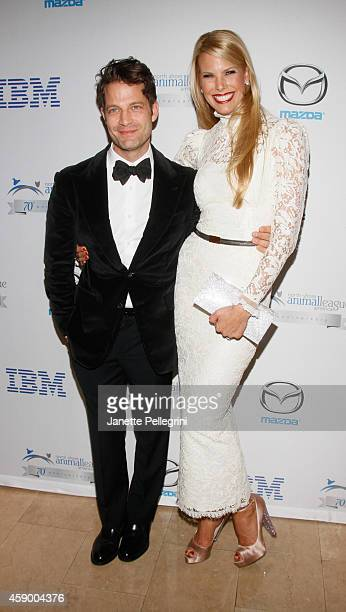 Nate Berkus and Beth Stern attend the North Shore Animal League America 2014 Celebrity Gala at The Plaza Hotel on November 14 2014 in New York City