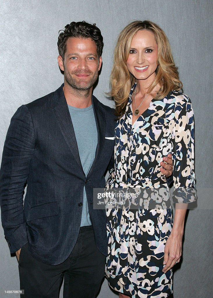Nate Berkus and Chely Wright attend the 'Chely Wright: Wish Me Away' premiere at the Quad Cinema on June 1, 2012 in New York City.