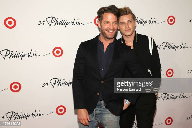 Nate Berkus and Jeremiah Brent attend 31 Phillip Lim for Target launch event on September 5 2013 in New York City