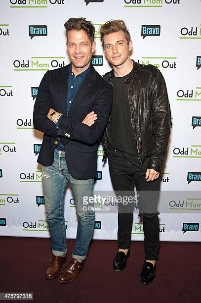 Nate Berkus and Jeremiah Brent attend Bravo Presents a Special Screening of 'Odd Mom Out' at Florence Gould Hall on June 3 2015 in New York City