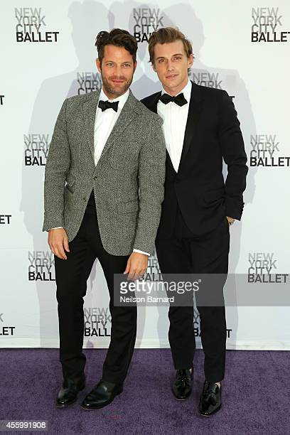Nate Berkus and Jeremiah Brent attend the New York City Ballet 2014 Fall Gala at David H Koch Theater at Lincoln Center on September 23 2014 in New...