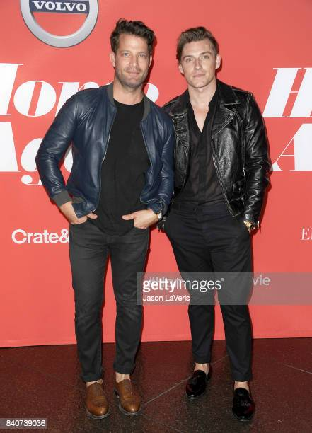 Nate Berkus and Jeremiah Brent attend the premiere of 'Home Again' at Directors Guild of America on August 29 2017 in Los Angeles California