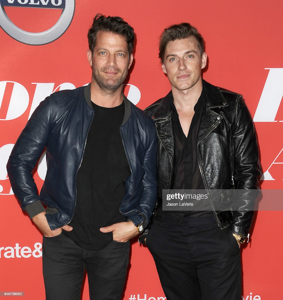 Nate Berkus and Jeremiah Brent attend the premiere of 'Home Again' at Directors Guild of America on August 29, 2017 in Los Angeles, California.
