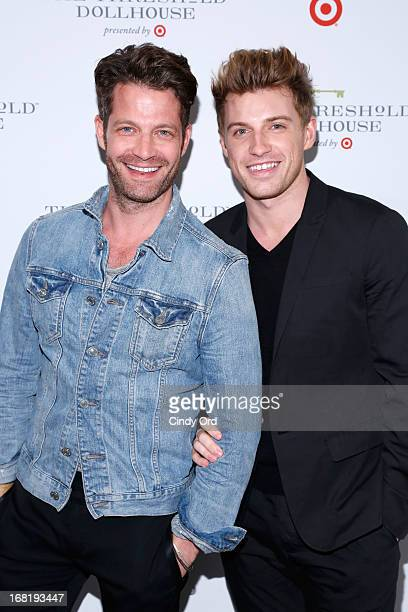 Nate Berkus and Jeremiah Brent attend the Target Dollhouse event at Grand Central Station Vanderbilt Hall on May 6 2013 in New York City