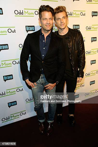 Nate Berkus and Jeremiah Brent attends Bravo's screening of 'Odd Mom Out' at Florence Gould Hall on June 3 2015 in New York City