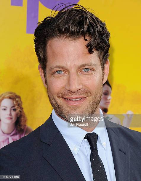 Nate Berkus arrives at the Los Angeles Premiere 'The Help' at AMPAS Samuel Goldwyn Theater on August 9 2011 in Beverly Hills California