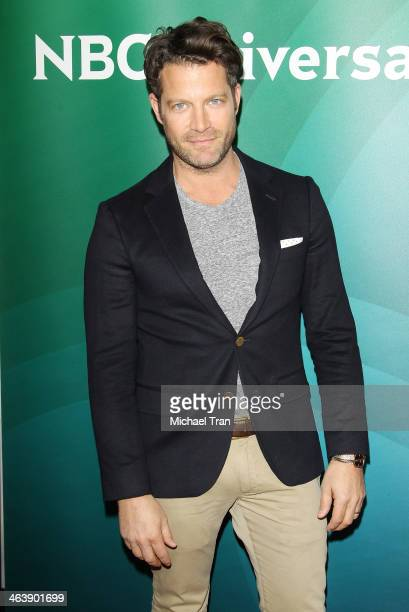 Nate Berkus arrives at the NBC/Universal 2014 TCA Winter press tour held at The Langham Huntington Hotel and Spa on January 19 2014 in Pasadena...