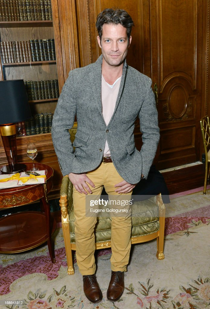 Nate Berkus attends Derek Blasberg for Opening Ceremony Stationery launch party at Saint Regis Hotel on December 18, 2012 in New York City.