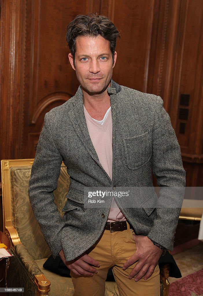 Nate Berkus attends the Derek Blasberg for Opening Ceremony Stationery launch party at the Saint Regis Hotel on December 18, 2012 in New York City.