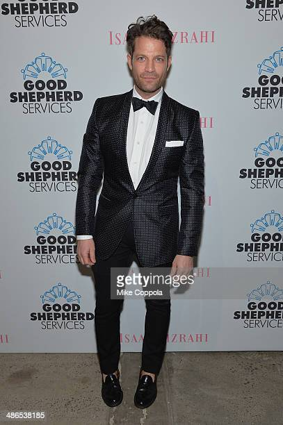 Nate Berkus attends the Good Shepherd Services Spring Party hosted by Isaac Mizrahi at Stage 37 on April 24 2014 in New York City