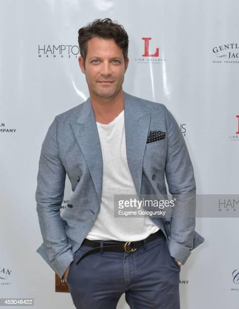 Nate Berkus attends the Hamptons Magazine Celebration of Cover Star Nate Berkus At Capri The Capri on August 1 2014 in Southampton New York