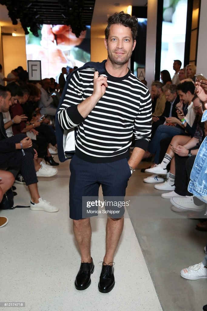 Nate Berkus attends the Todd Snyder fashion show during