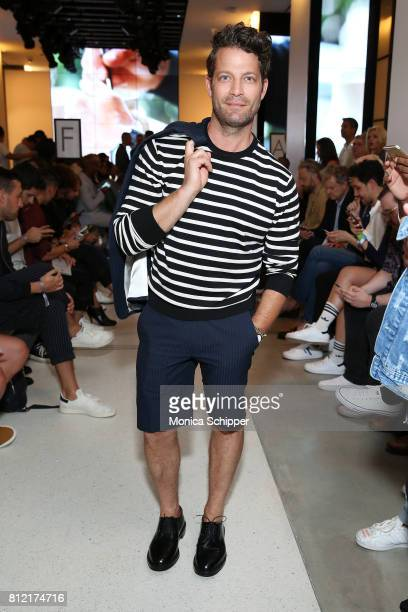 Nate Berkus attends the Todd Snyder fashion show during NYFW Men's July 2017 at Cadillac House on July 10 2017 in New York City
