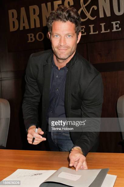 Nate Berkus signs copies of his new book 'The Things That Matter' at Barnes Noble bookstore at The Grove on November 8 2012 in Los Angeles California