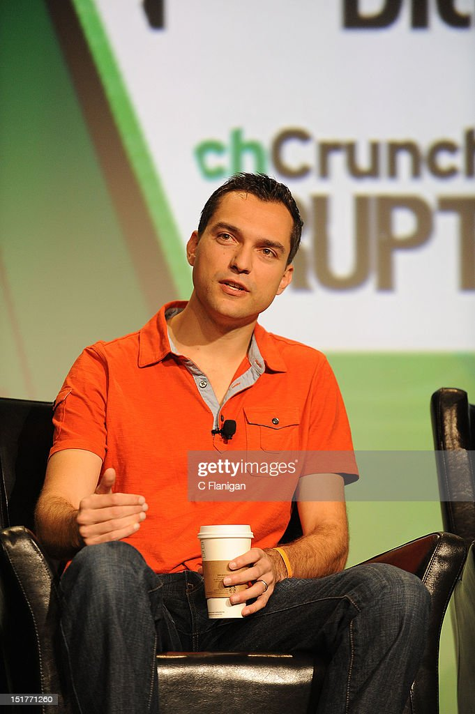 Nate Blecharczyk founder of Airbnb speaks at the Tech:Crunch Disrupt SF 2012 Conference on September 10, 2012 in San Francisco, California.