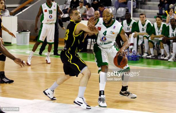 Nate CARTER Nanterre / Bordeaux 27eme journee de ProB Palais des sports de Nanterre