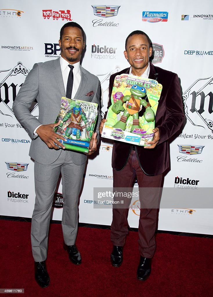 Nate Parker and Hill Harper host the 7th Annual Manifest Your Destiny Toy Drive Fundraiser at Avalon on December 1 2014 in Hollywood California