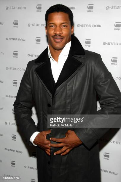Nate Parker attends GSTAR RAW Presents NY RAW Fall/Winter 2010 Collection Arrivals at Hammerstein Ballroom on February 16 2010 in New York City