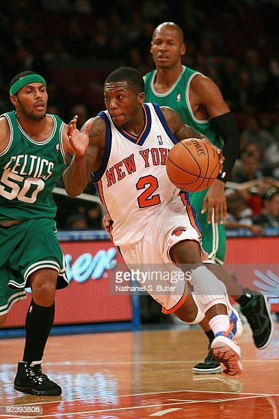 640d57207 ... Nate Robinson of the New York Knicks drives the ball against Eddie  House of the Boston Eddie Gill of the New Jersey Nets ...