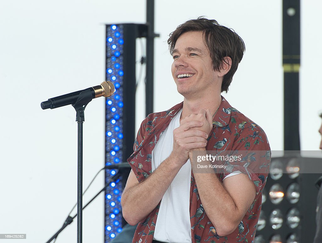 <a gi-track='captionPersonalityLinkClicked' href=/galleries/search?phrase=Nate+Ruess&family=editorial&specificpeople=6897270 ng-click='$event.stopPropagation()'>Nate Ruess</a> of Fun performs on NBC's 'Today' at Seaside Heights on May 24, 2013 in Seaside Heights, New Jersey.