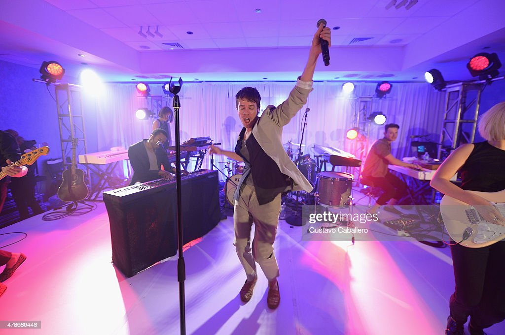 Nate Ruess Performs An Intimate Show At Aloft Miami Doral And Element Miami Doral As Part Of Starwood Preferred Guest's Hear The Music, See The World Concert Series