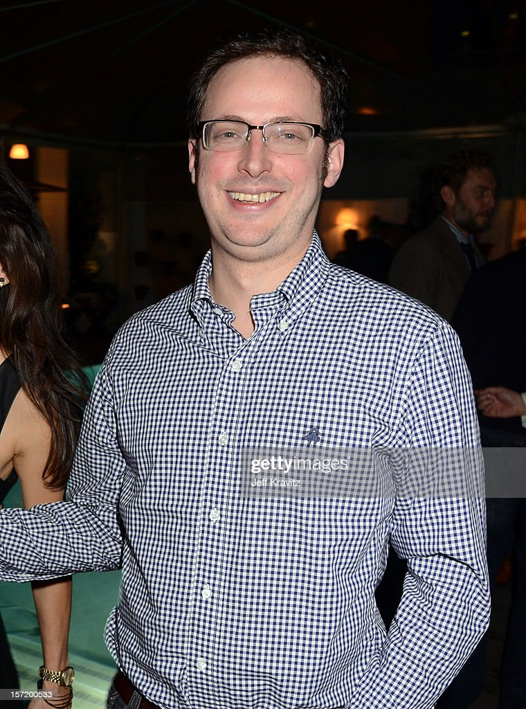 Nate Silver attends BuzzFeed's Los Angeles Bureau Party at SkyBar at the Mondrian Los Angeles on November 29, 2012 in West Hollywood, California.