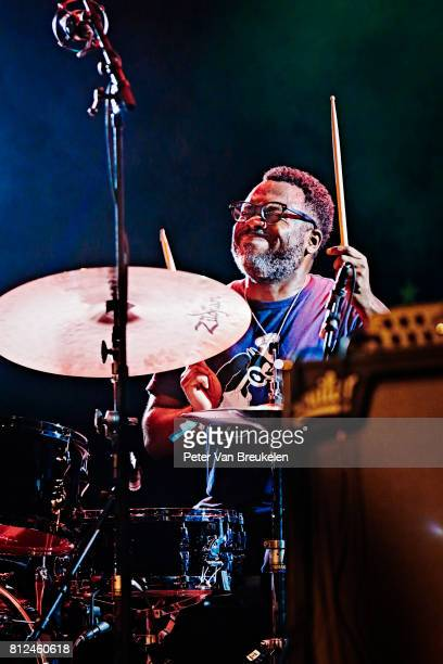 Nate Smith Performs at North Sea Jazz Festival on Juli 7th 2017 in Rotterdam The Netherlands