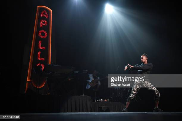 Nate the Great performs during Amateur Night At The Apollo Super Top Dog at The Apollo Theater on November 22 2017 in New York City Photo by Shahar...