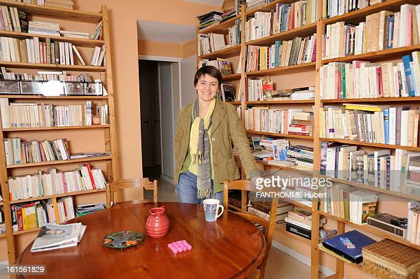 Nathalie Arthaud Lutte Ouvriere Spokesperson VaulxenVelin February 23 2009 Nathalie ARTHAUD associate professor teaching economics and management to...