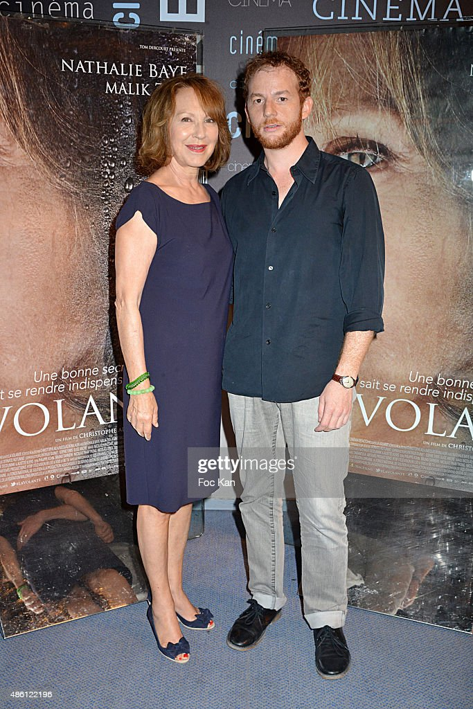 Nathalie Baye and Malik ZidiÊattend 'La Volante' Paris premiere at UGC La Defense on August 31 2015 in Paris La Defense France