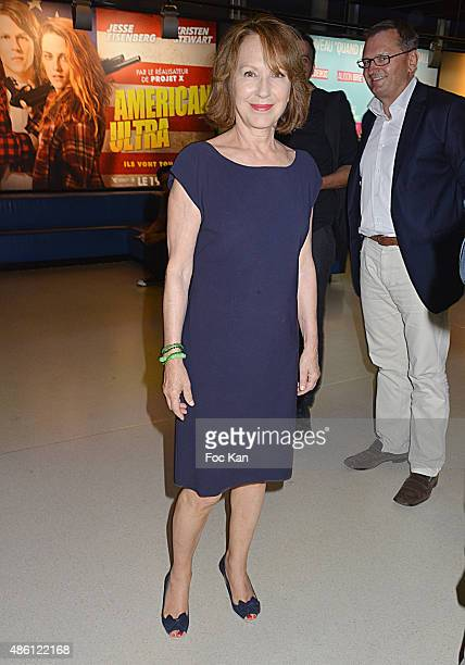 Nathalie Baye attends 'La Volante' Paris premiere at UGC La Defense on August 31 2015 in Paris La Defense France